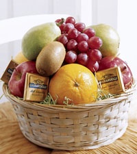 Fruit & Chocolate Basket