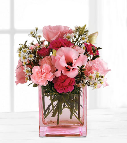 Teleflora's Pink Dawn Bouquet