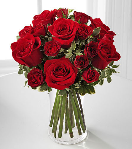 Red Romance Rose Bouquet