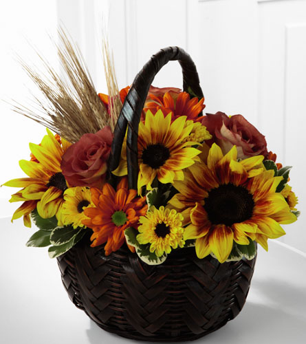 FTD's Harvest Sunshine Bouquet