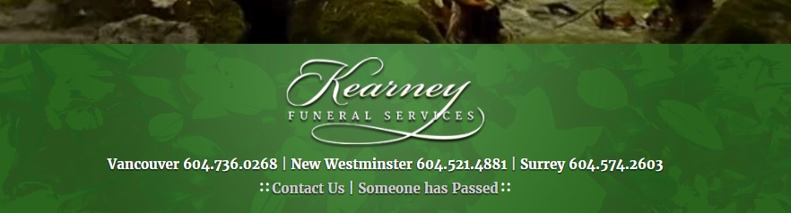 Call Nature's Wonders Florist for funeral flowers hand-delivered to Kearney Funeral Home (Columbia Bowell Chapel)